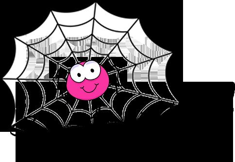 Spinnetje in 't web